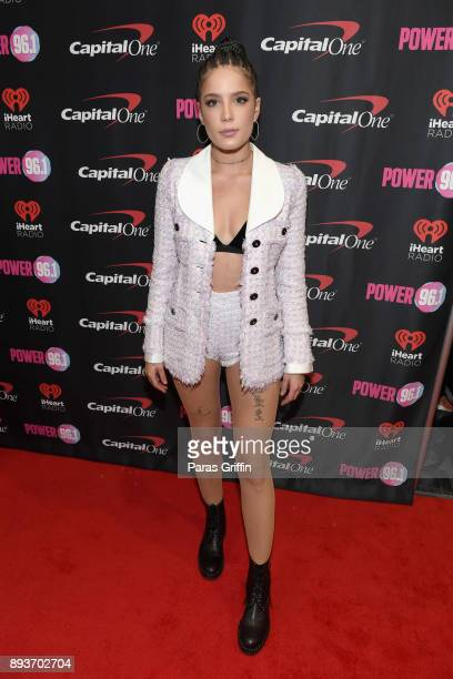 Halsey attends Power 961's Jingle Ball 2017 Presented by Capital One at Philips Arena on December 15 2017 in Atlanta Georgia