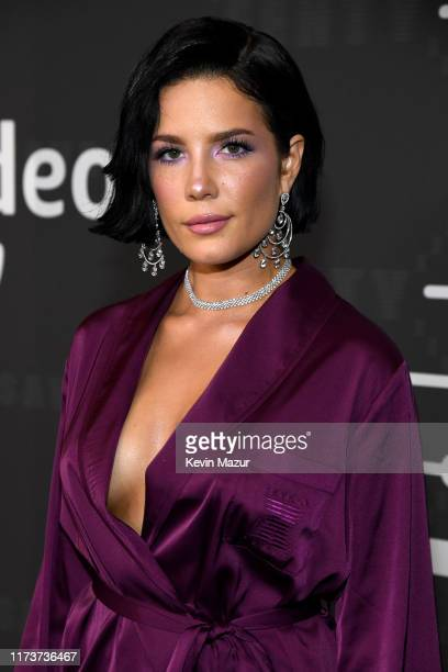 Halsey attends Savage X Fenty Show Presented By Amazon Prime Video - Arrivals at Barclays Center on September 10, 2019 in Brooklyn, New York.