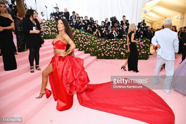 Halsey attends The 2019 Met Gala Celebrating Camp Notes on Fashion at Metropolitan Museum of Art on May 06 2019 in New York City