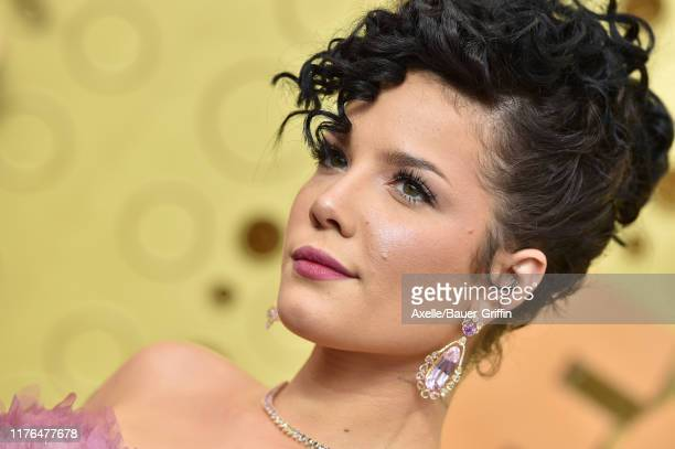 Halsey attends the 71st Emmy Awards at Microsoft Theater on September 22, 2019 in Los Angeles, California.
