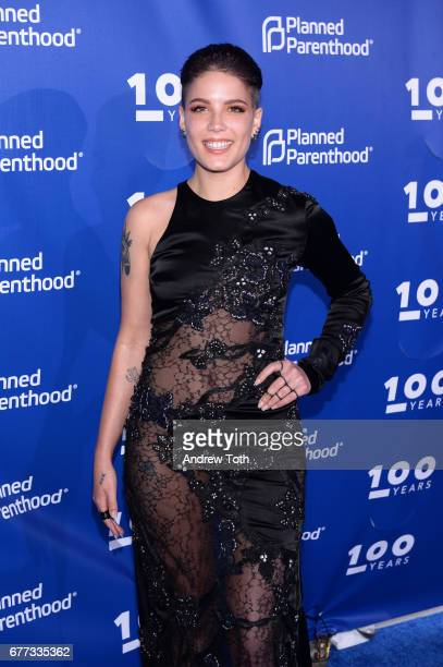 Halsey attends the Planned Parenthood 100th Anniversary Gala at Pier 36 on May 2 2017 in New York City