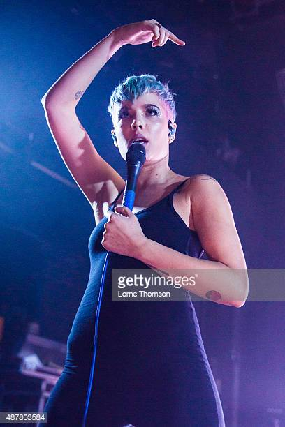 Halsey performs at Koko on September 11 2015 in London England