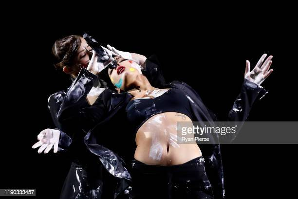 Halsey performs during the 33rd Annual ARIA Awards 2019 at The Star on November 27 2019 in Sydney Australia