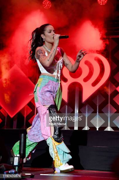 Halsey performs onstage during 102.7 KIIS FM's Jingle Ball 2019 Presented by Capital One at the Forum on December 6, 2019 in Los Angeles, California.