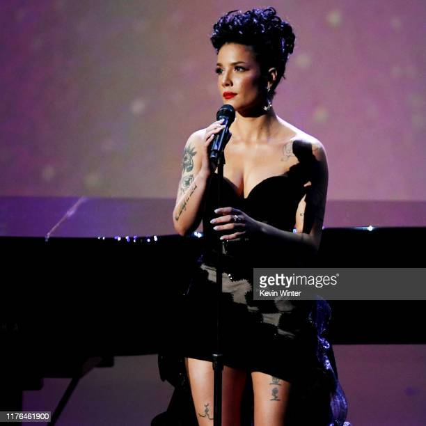 Halsey performs onstage during the 71st Emmy Awards on September 22, 2019 in Los Angeles, California.