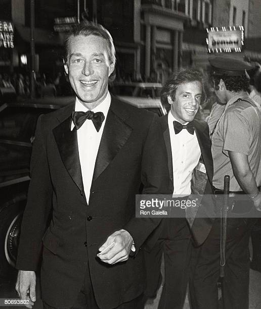 Halston and Steve Rubell