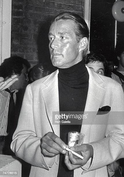 Halston at the Studio 54 in New York City New York