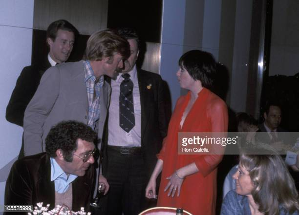 """Halston, Robert Redford, and Liza Minnelli during """"All the President's Men"""" New York City Premiere - April 5, 1976 at Loew's Astor Plaza Theater in..."""