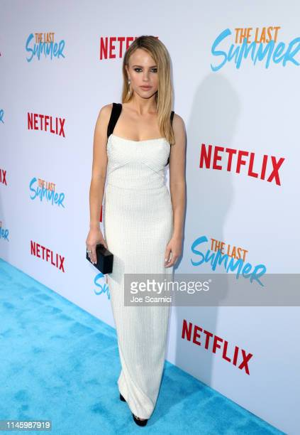 Halston Sage attends a special screening of Netflix's 'The Last Summer' at the TCL Chinese Theatre on April 29 2019 in Los Angeles California