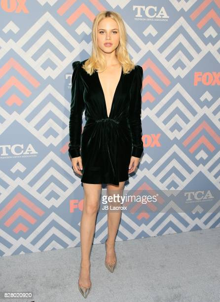 Halston Sage attends the 2017 Summer TCA Tour 'Fox' on August 08 2017 in Los Angeles California