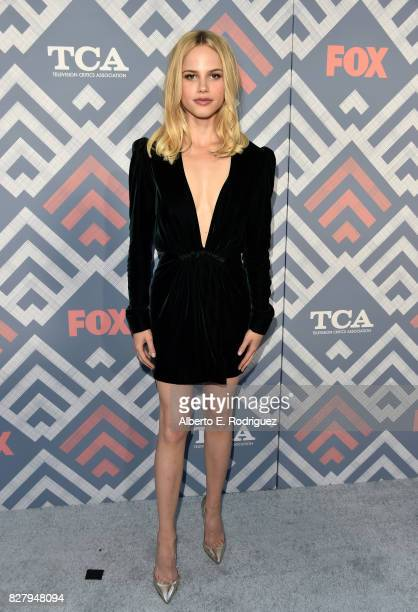 Halston Sage attends the FOX 2017 Summer TCA Tour after party on August 8 2017 in West Hollywood California