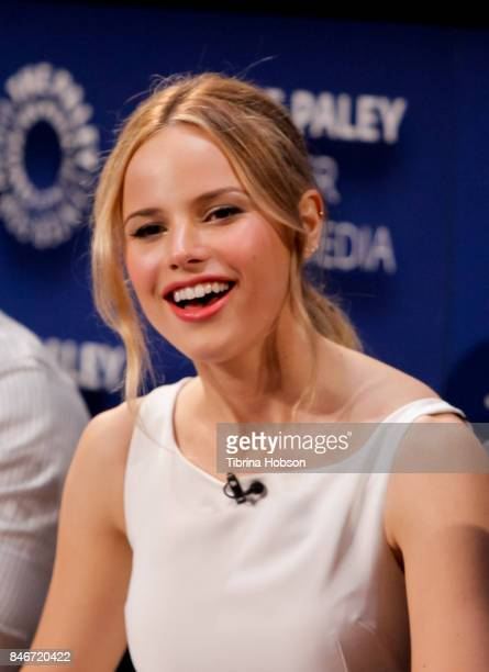 Halston Sage attends The Paley Center for Media's 11th annual PaleyFest Fall TV previews for FOX at The Paley Center for Media on September 13 2017...