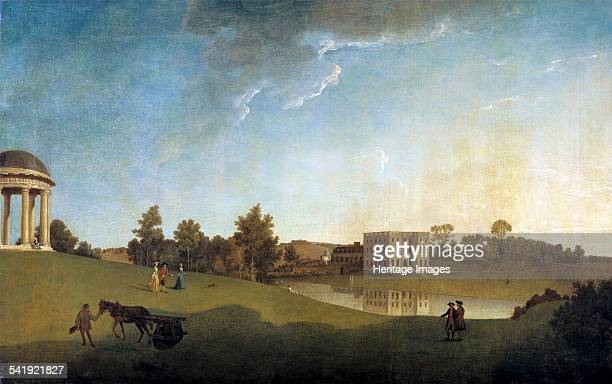 Halswell House Somerset' 1764 Artist John Inigo Richards