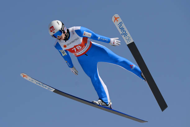 DEU: FIS Nordic World Ski Championships Oberstdorf - Men's Ski Jumping Normal Hill Individual Training