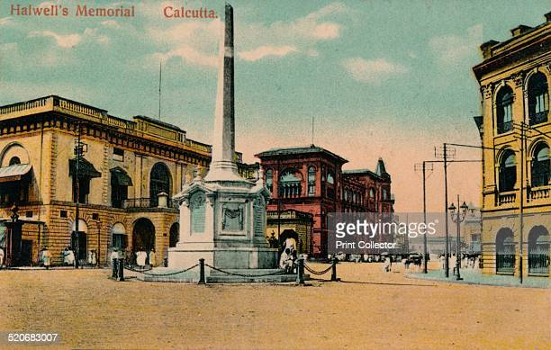 Halwell's Memorial Calcutta' c1910 John Zephaniah Holwell was one of the survivors of the Black Hole of Calcutta The monument was erected to the...