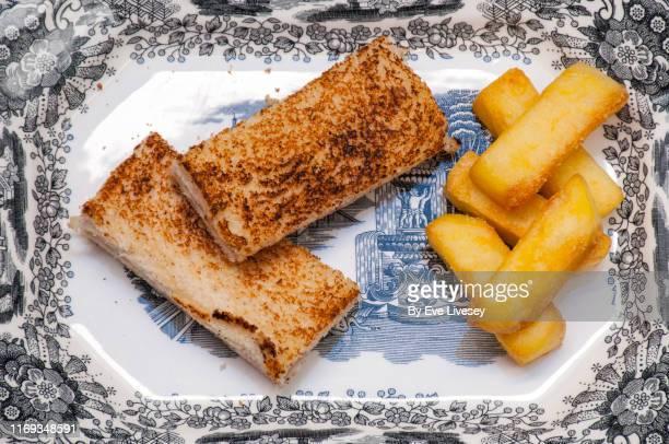 ham & cheese bikini sandwich - 副菜 ストックフォトと画像
