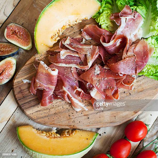 jamon - prosciutto stock photos and pictures