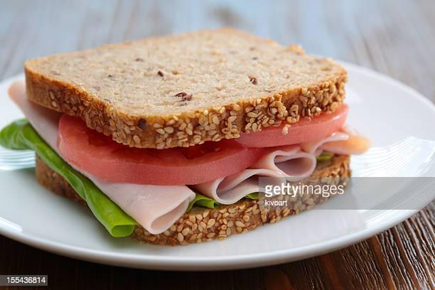 Ham Sandwich at a Picnic