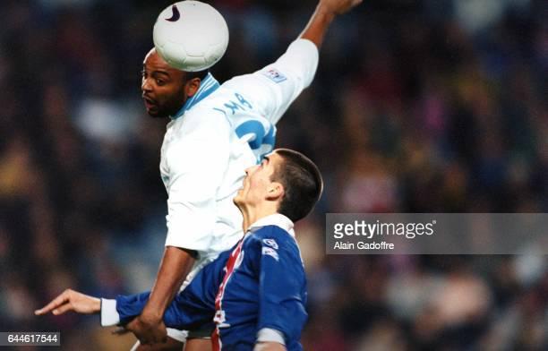 Hamada Jambay / Jerome Leroy Paris Saint Germain / Marseille Division 1 Photo Alain Gadoffre / Icon Sport