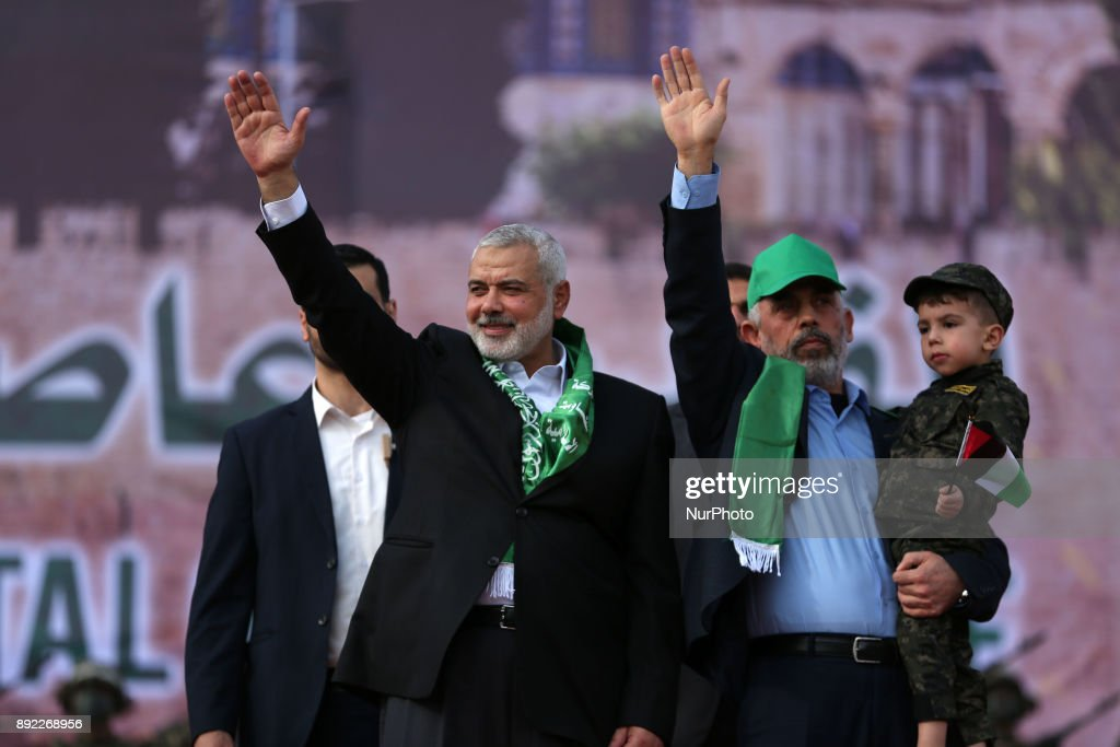 Hamas marks 30-year anniversary with Gaza rally