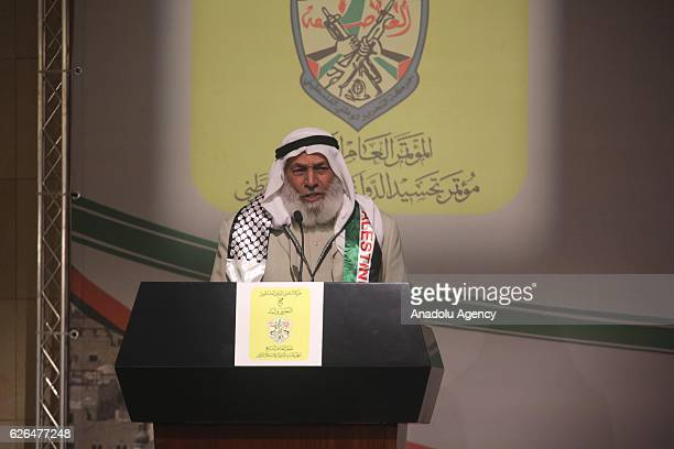 Hamas member and a Palestinian deputy Ahmad alHaj attends the 7th General Assembly meeting of Fatah Movement at Palestinian Prime Ministry office...