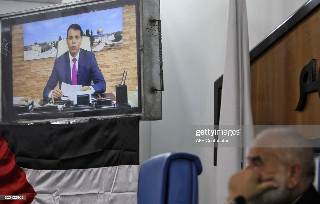 PALESTINIAN-ISRAEL-GAZA-HAMAS-PARLIAMENT : News Photo