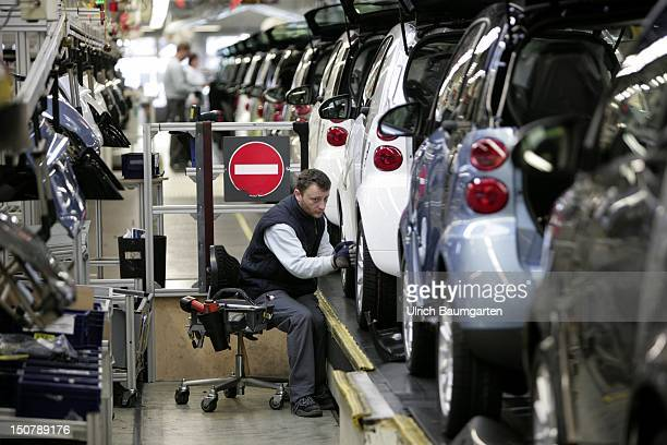 FRANCE Hambach smart fortwo car production