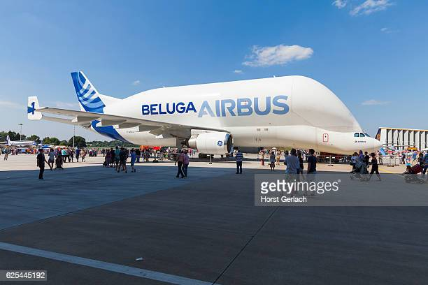 hamburg airport days 2015, germany - airbus stock pictures, royalty-free photos & images