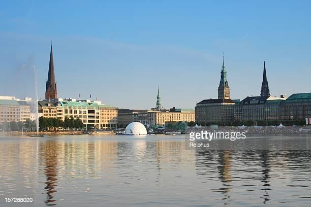 Hamburg Alster Lake City