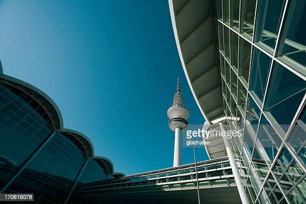 hamburg architecture - tradeshow stock pictures, royalty-free photos & images