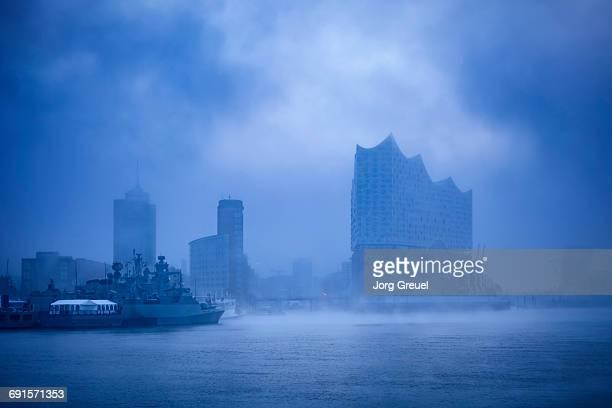 Hamburg at dawn