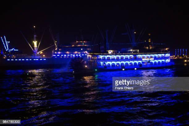 Hamburg Cruise Days Blue