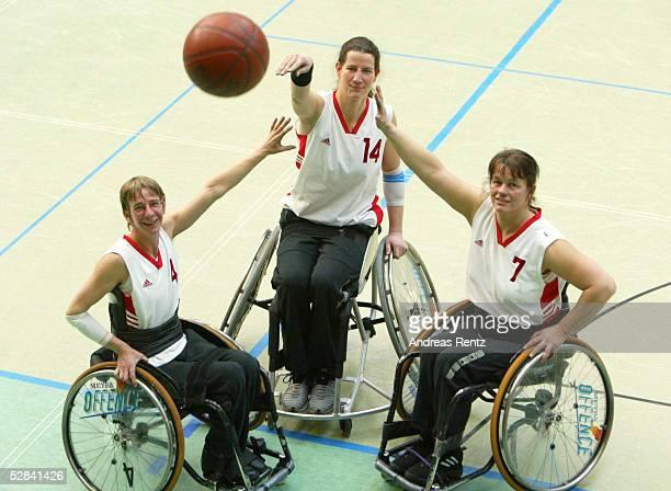 EM 2003 Hamburg Deutschland Spanien Verena KLEIN Anette KAHL Heidi KIRSTE
