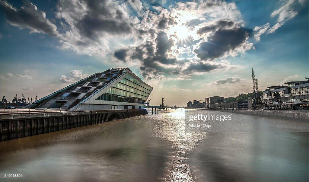Hamburg Docklands : Stock Photo