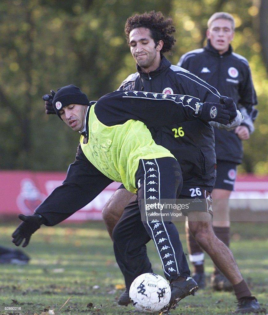 St Pauli Training