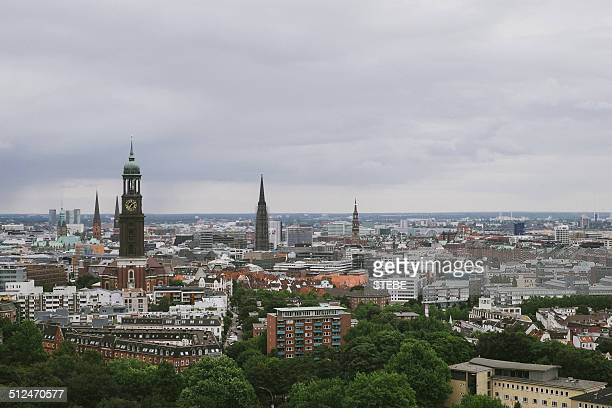 Hamburg from above