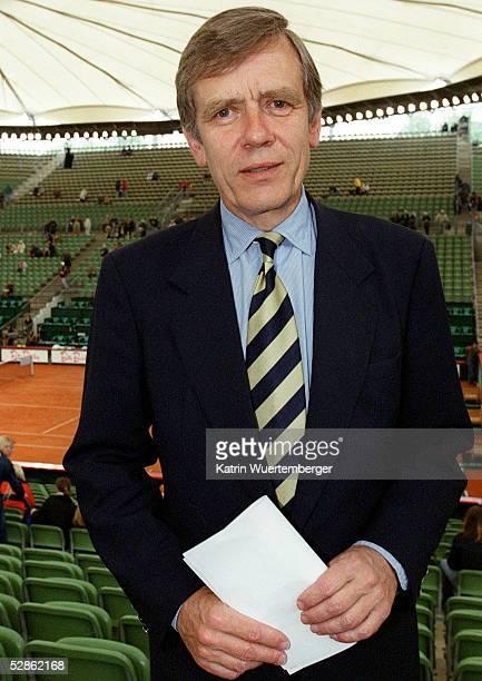 CUP 2002 Hamburg Georg Freiherr VON WALDENFELS/DTB Praesident