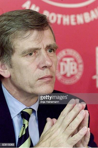 CUP 2002 Hamburg Georg Freiherr VON WALDENFELS/DTB Prsident