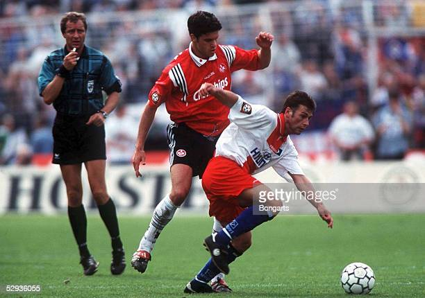1 BUNDESLIGA 98/99 Hamburg HAMBURGER SV 1 FC KAISERSLAUTERN 11 Michael BALLACK /Harald SPOERL