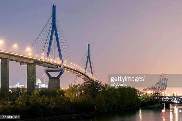 Hamburg harbour bridge