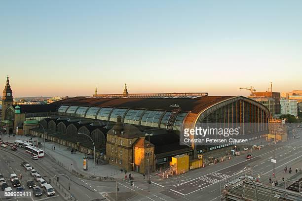 Hamburg Hauptbahnhof Main Train Station