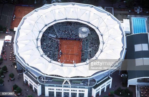 HAMBURG 2000 Hamburg LUFTAUFNAHME auf den Centre Court der Tennisanlage Rotherbaum