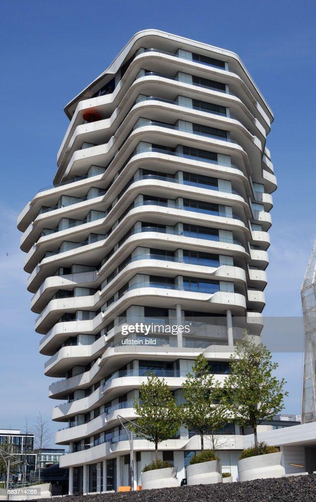 hamburg marco polo tower in der hafencity