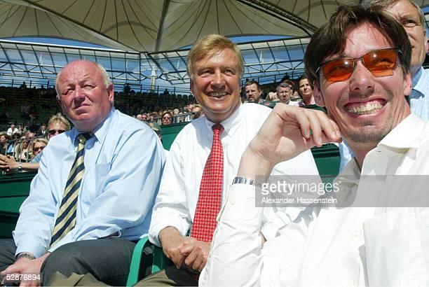 SERIES 2002 Hamburg Walter KNAPPER/Turnierdirektor HH Ole VON BEUST/Oberbuergermeister Hamburg und Michael STICH