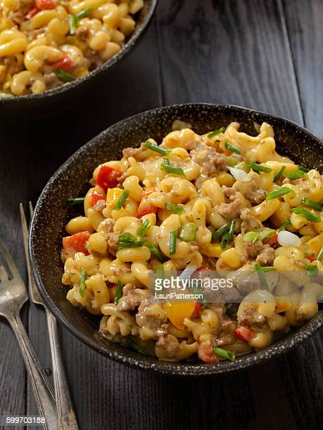 Hamburger Macaroni and Cheese