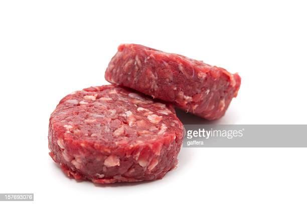 hamburger - aliment cru photos et images de collection
