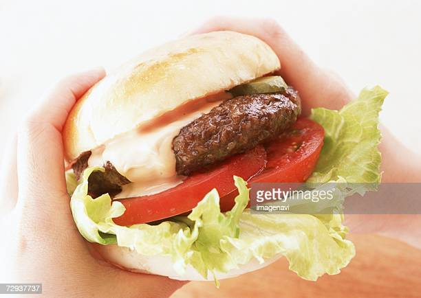hamburger - savoury food stock photos and pictures