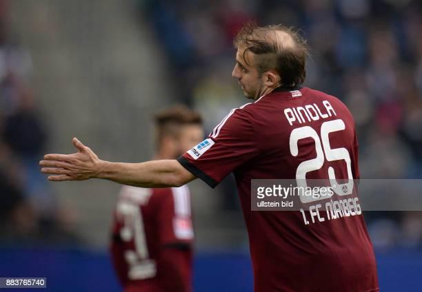 FUSSBALL 1 BUNDESLIGA SAISON Hamburger SV 1 FC Nuernberg Javier Pinola