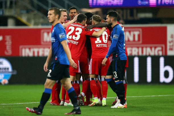 DEU: SC Paderborn 07 v Hamburger SV - Second Bundesliga