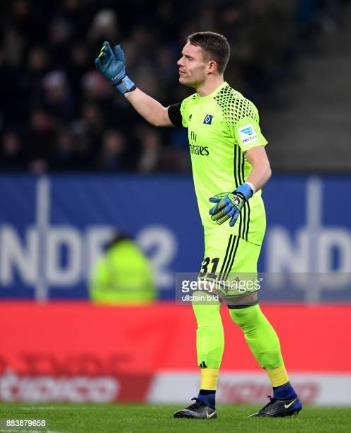 FUSSBALL 1 BUNDESLIGA 16 SPIELTAG SAISON Hamburger SV Schalke 04 Christian Mathenia